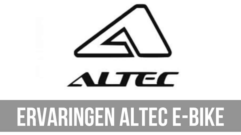 Ervaringen Altec E-Bike
