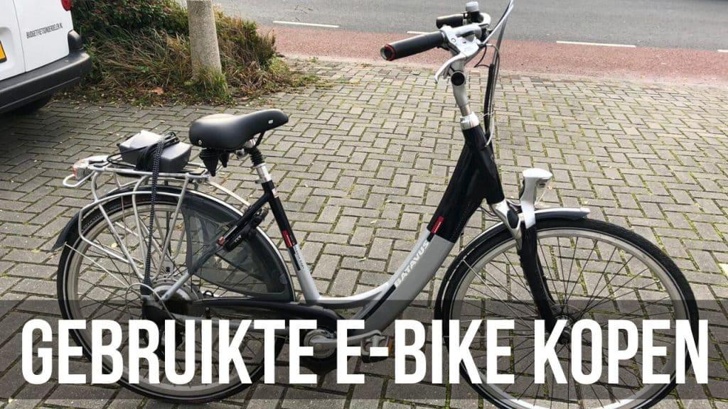Gebruikte E-Bike kopen
