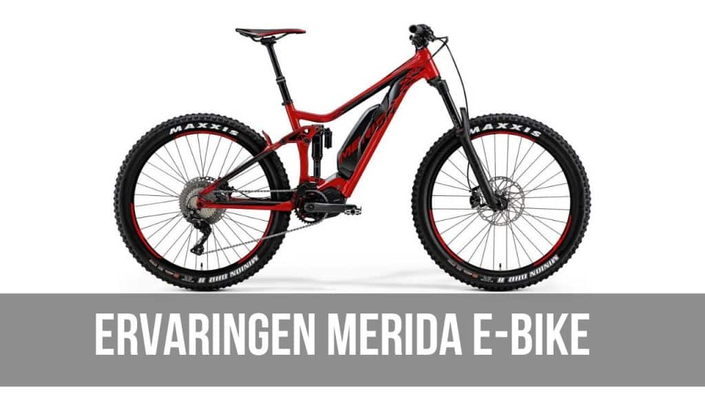 Ervaringen Merida E-Bike