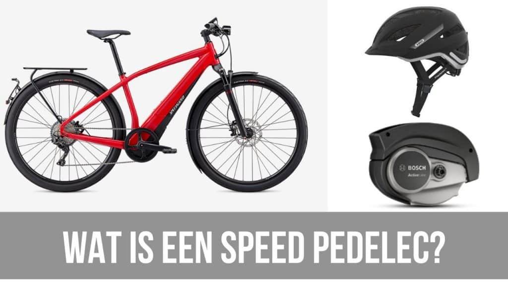 Wat is een speed pedelec?