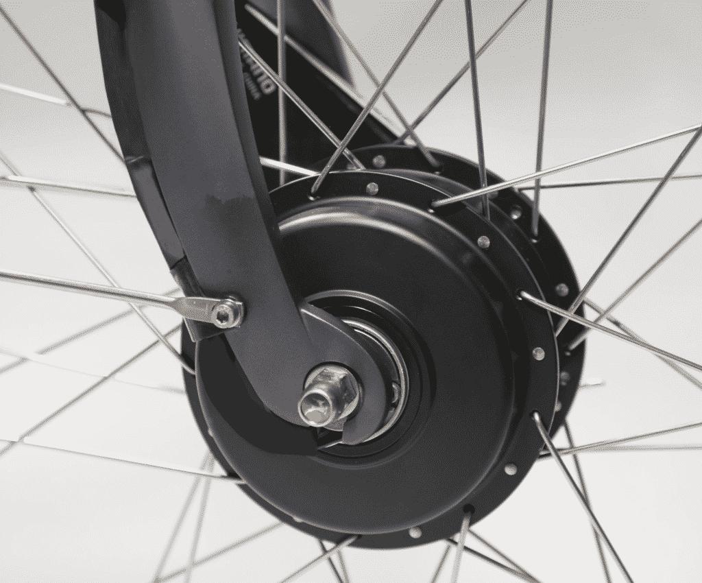 Voorwiel motor band vervangen