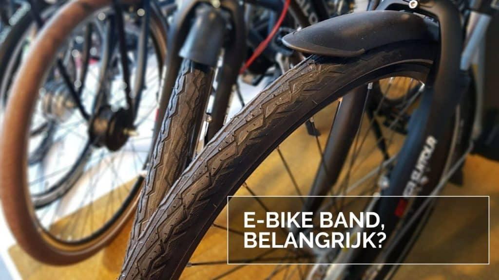 E-Bike band, belangrijk?