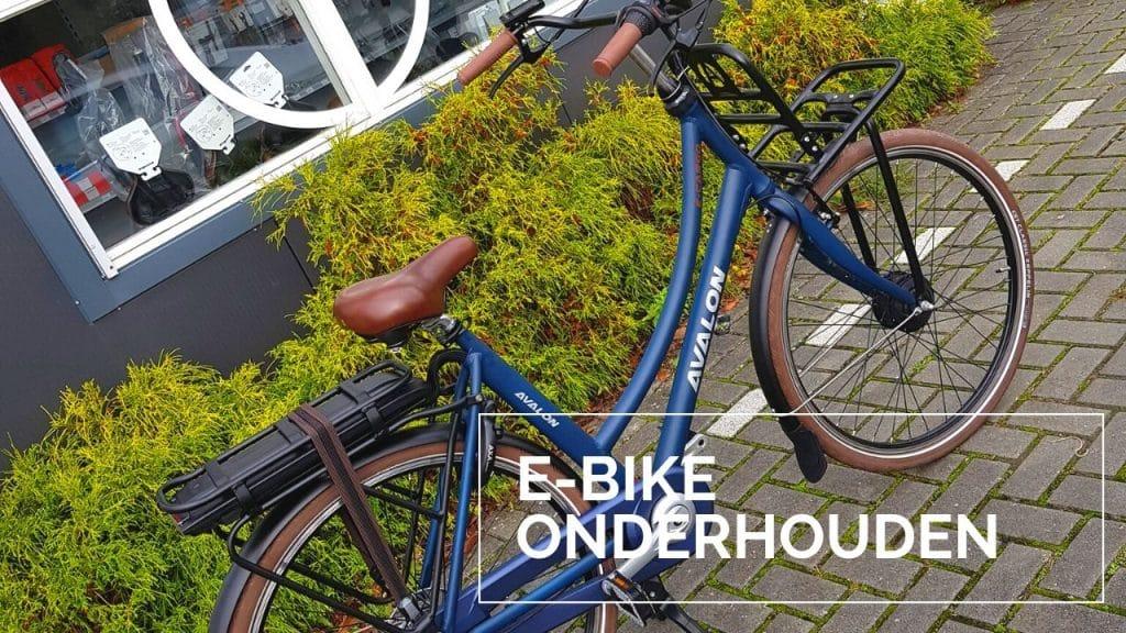 E-Bike onderhoud
