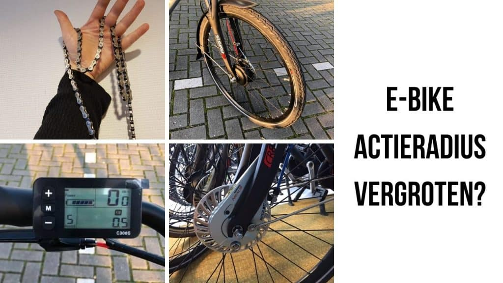 Actieradius E-bike vergroten
