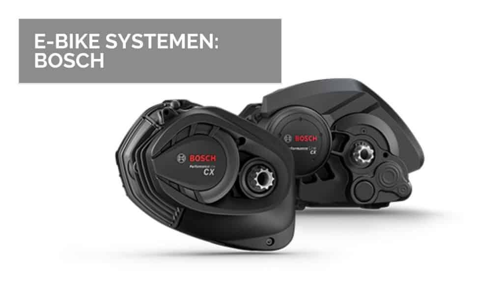 E-Bike systemen: Bosch
