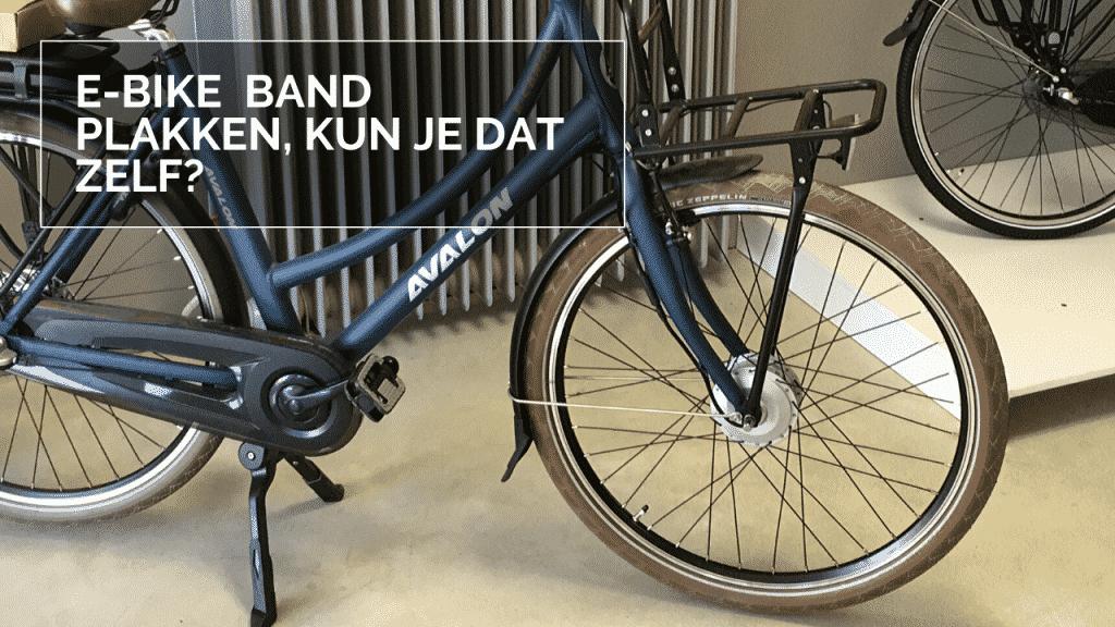 E-bike band plakken - Elektrische fietsband