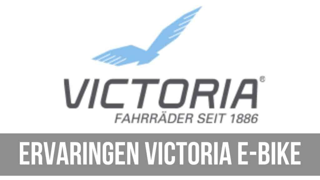 Ervaringen Victoria e-bike