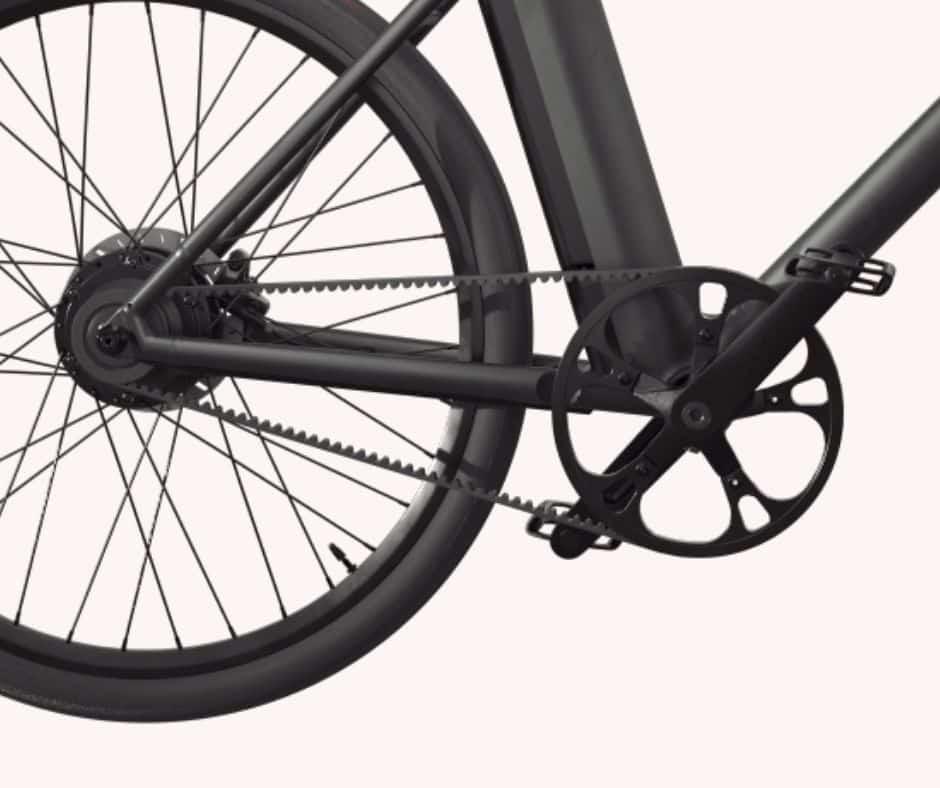 Riemaandrijving elektrische fiets