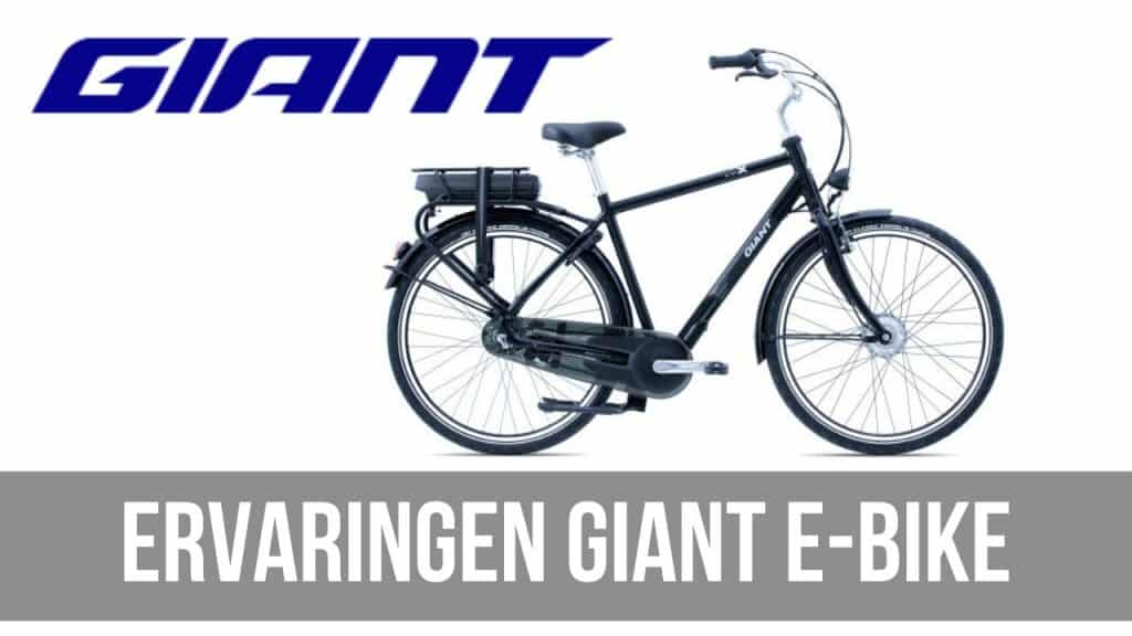 Ervaringen Giant E-Bike