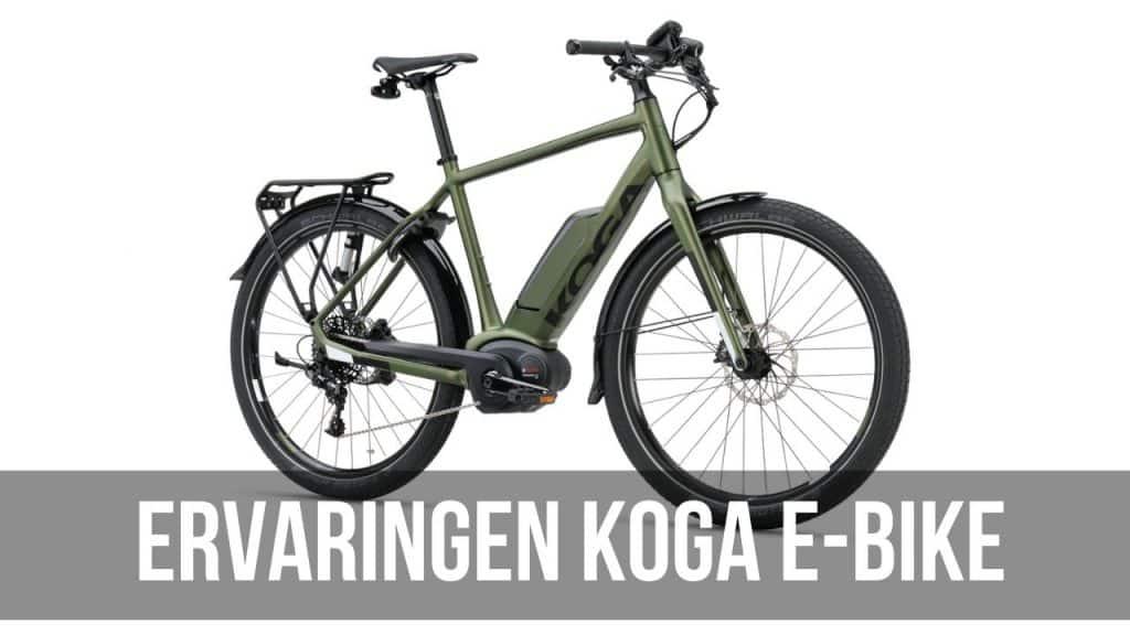 Ervaringen Koga E-Bike