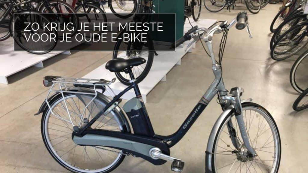 Elektrische fiets inruilen