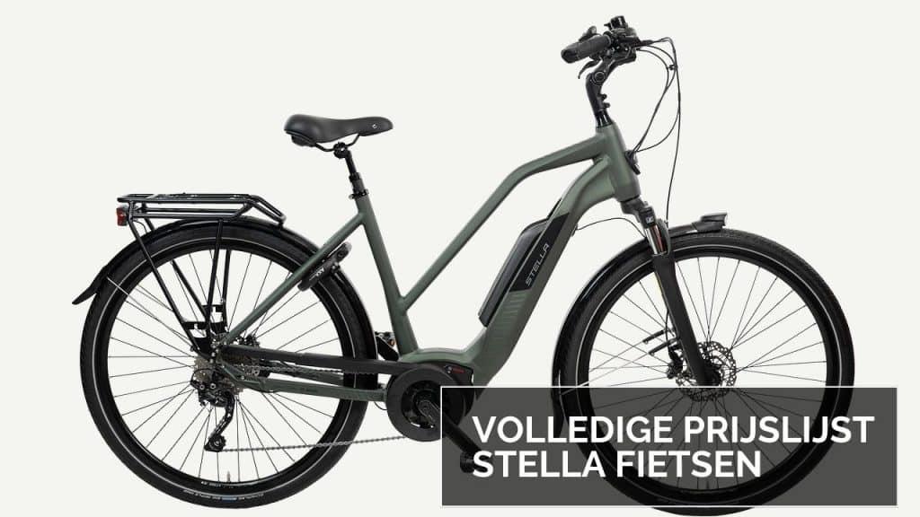 Prijzen stella fietsen