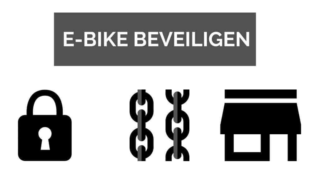 E-Bike beveiligen