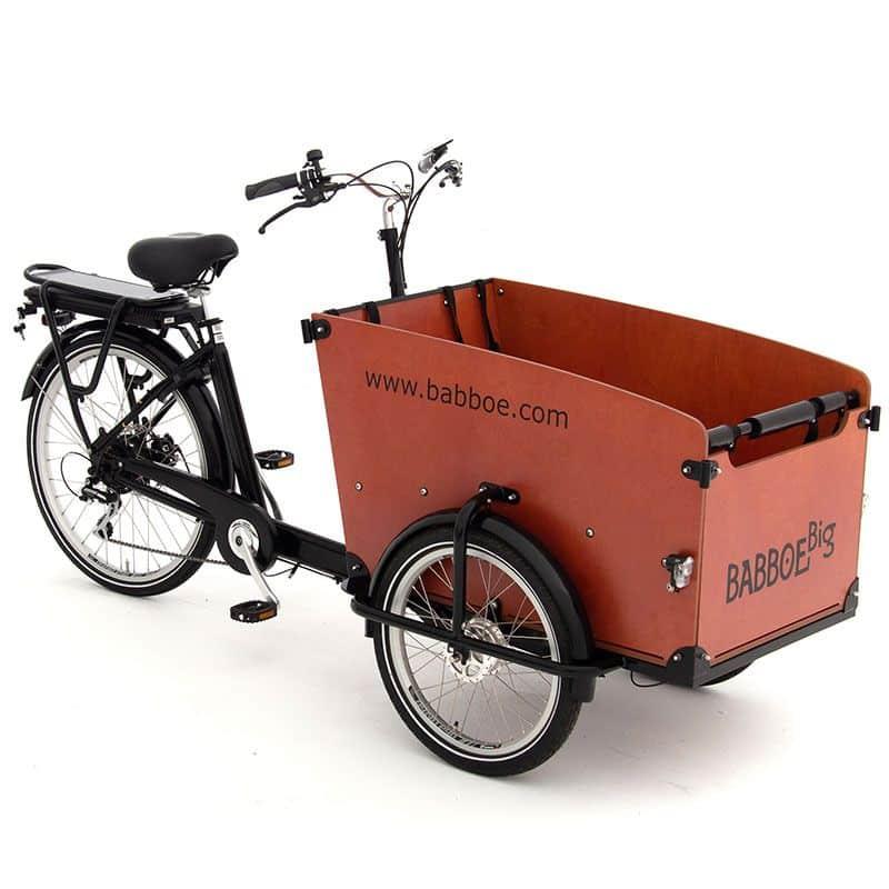 Babboe big E bak fiets