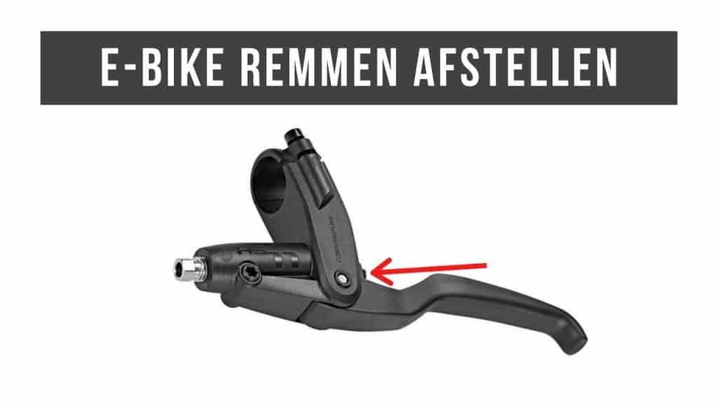 E-Bike remmen afstellen