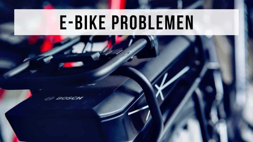 problemen elektrische fiets