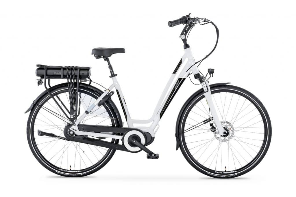Amslod E-bike met middenmotor