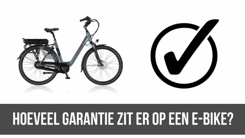 E-Bike garantie